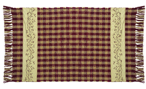 Checkerberry Rectangle Rug