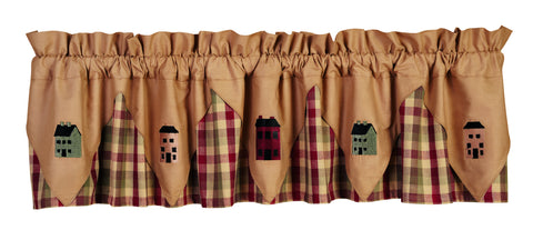 Apple Cider Saltbox Houses Valance