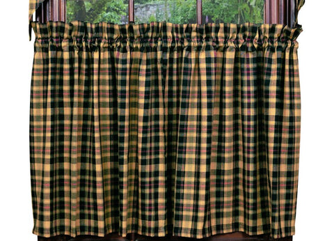 Tartan Long Tier Pair