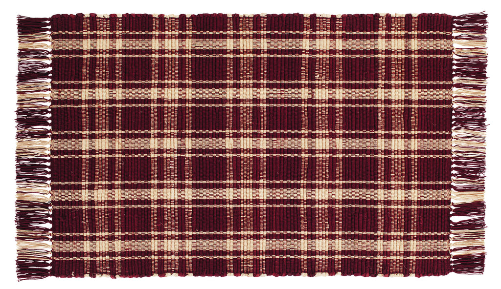 Cambridge Wine - Burgundy Rectangle Rug