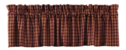 Cambridge Wine - Burgundy Valance