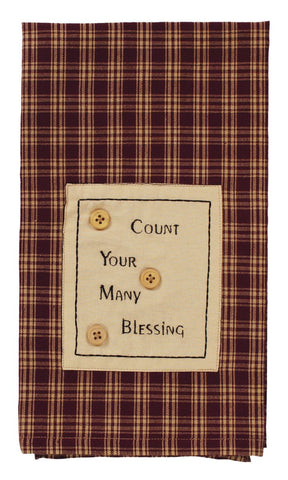 Cambridge Wine Blessings Dishtowel