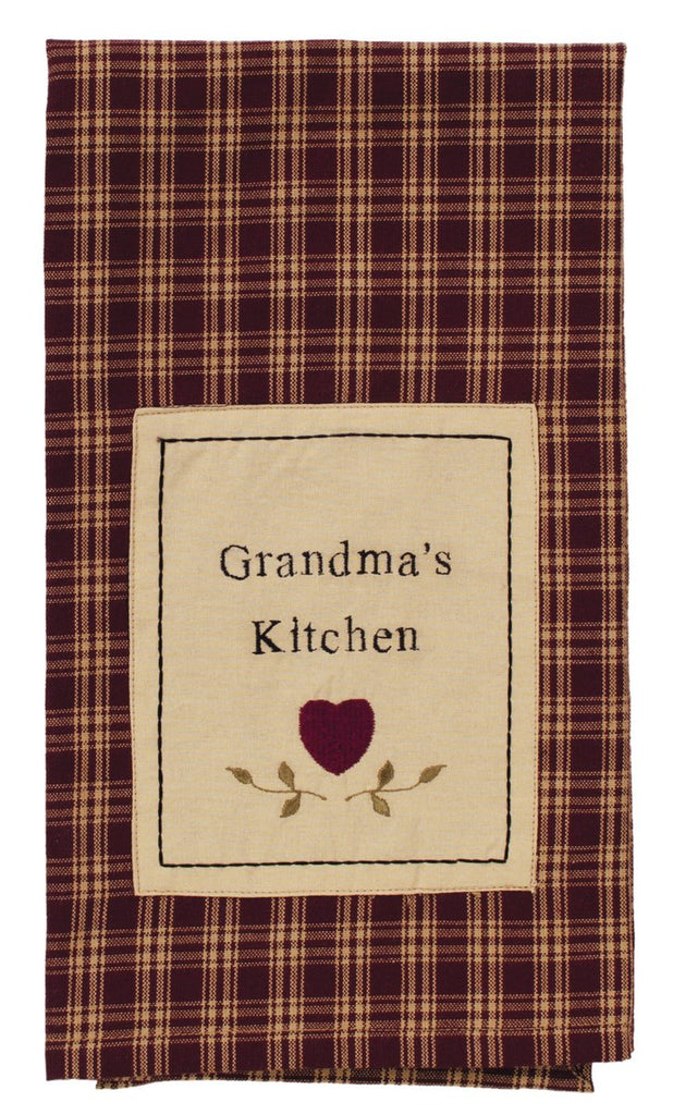 Cambridge Wine Grandma's Kitchen Dishtowel