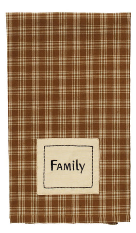 Cambridge Mustard Family Dishtowel