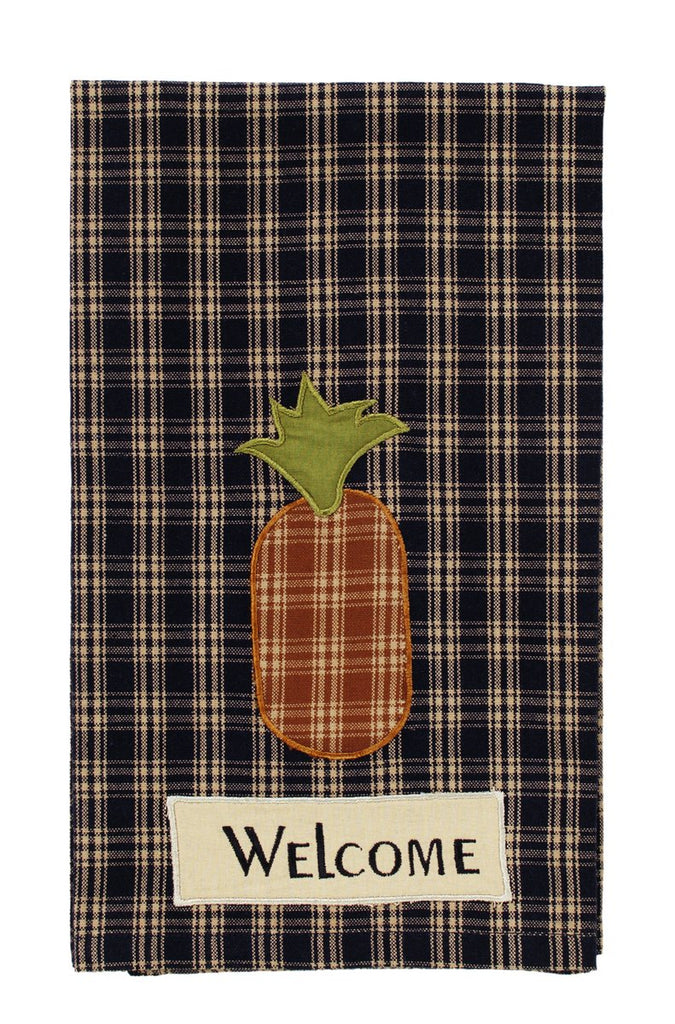 Cambridge Navy Welcome Dishtowel