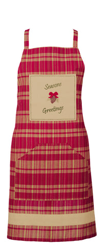 Holiday Pine Decorative Apron