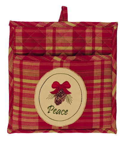 Holiday Pine Potholder
