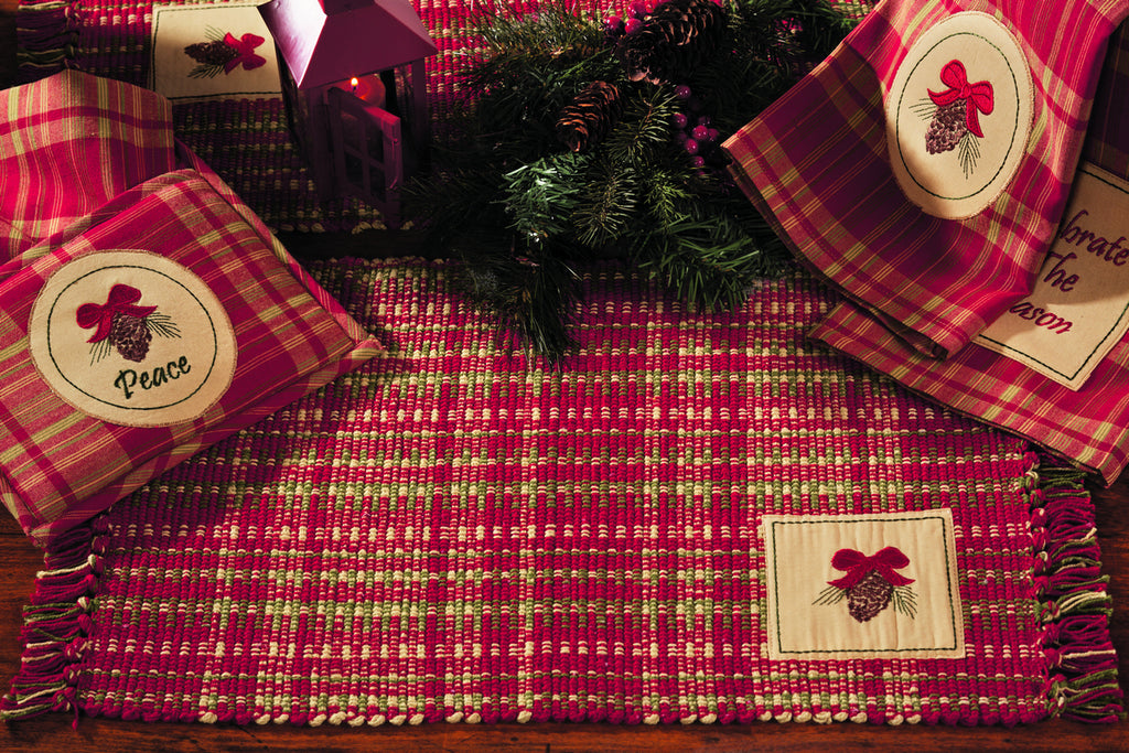 Holiday Pine Long Table Runner