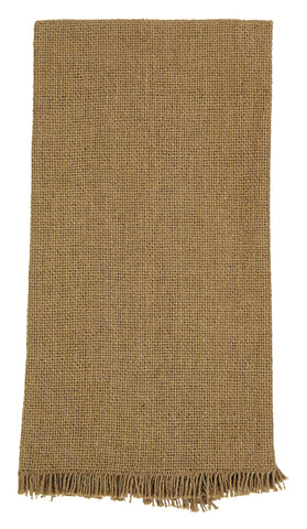 Soft Cotton Burlap Tan Dishtowel