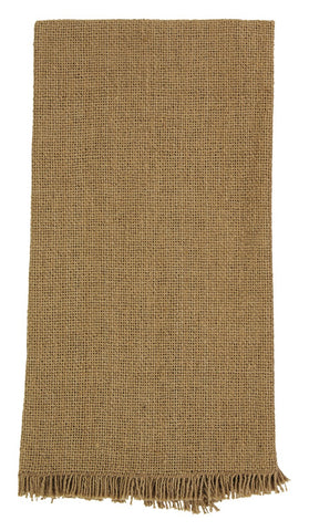 Soft Cotton Burlap Tan Napkin