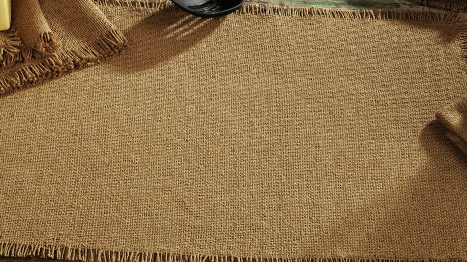 Burlap Short Table Runner