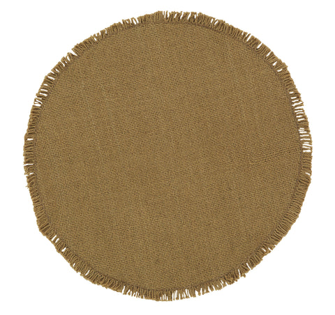 Soft Cotton Burlap Tablemat