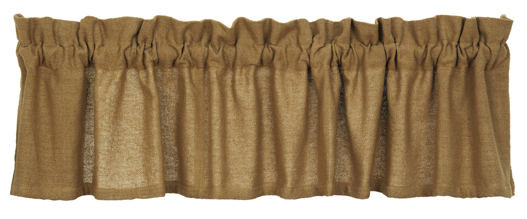 Soft Cotton Burlap Valance
