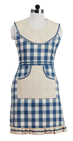 Picnic Blue Decorative Apron