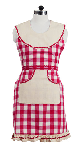 Picnic Red Decorative Apron