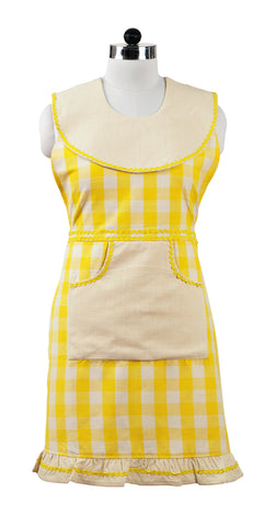 Picnic Yellow Decorative Apron