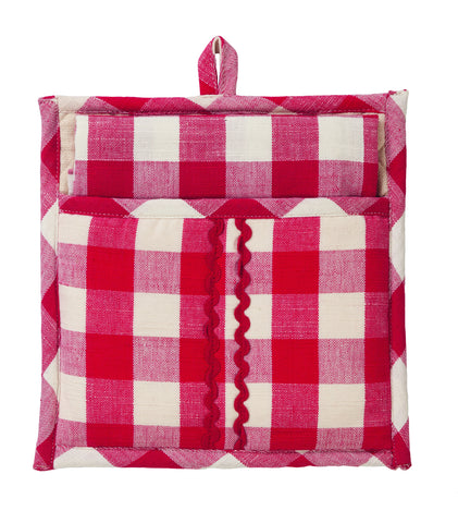 Picnic Red Potholder Gift Set - Set of 2