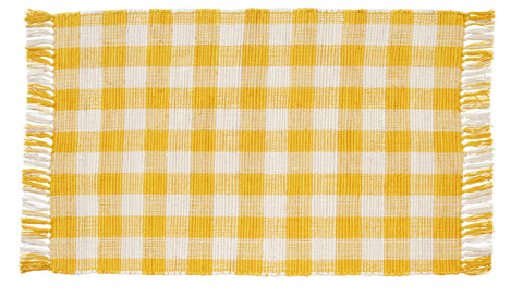 Picnic Yellow Rectangle Rug