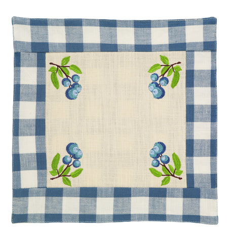 Picnic Blue Tablemat
