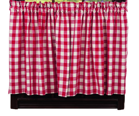 Picnic Red Window Treatments