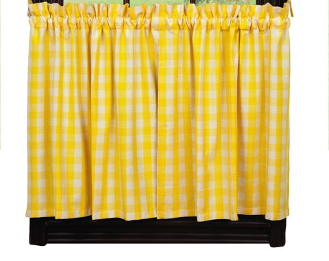 Picnic Yellow Long Tier Pair