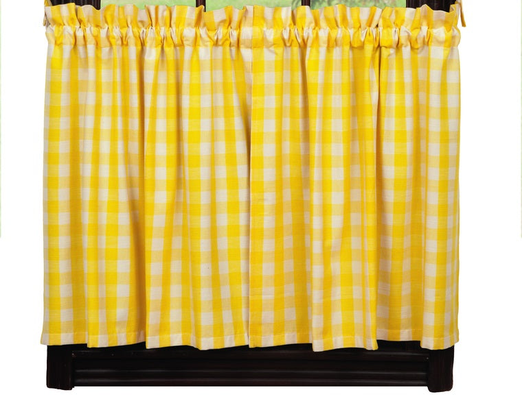 Picnic Yellow Short Tier Pair