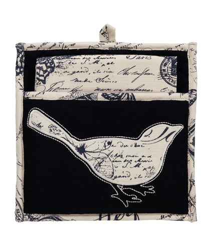 French Postcard Potholder Gift Set - Set of 2