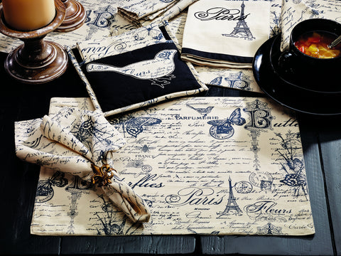 French Postcard Tabletop