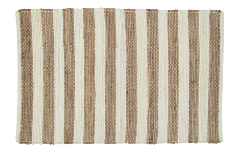 Au Natural Stripe Rectangle Rug