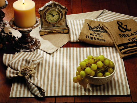 Au Natural Reversible Short Table Runner