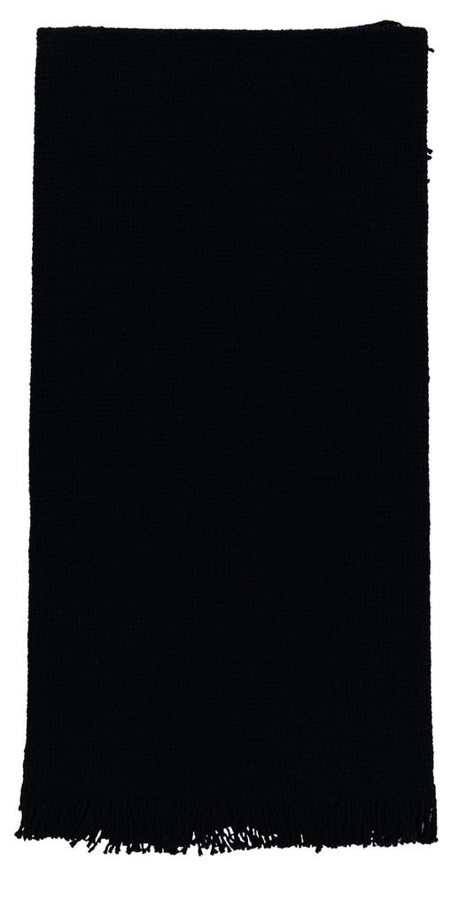 Soft Cotton Burlap Black Dishtowel