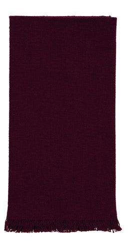 Soft Cotton Burlap Wine - Burgundy Dishtowel