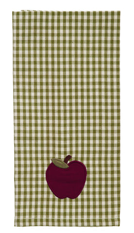 Apple Valley Dishtowel - Country Farmhouse Kitchen Dish Towels