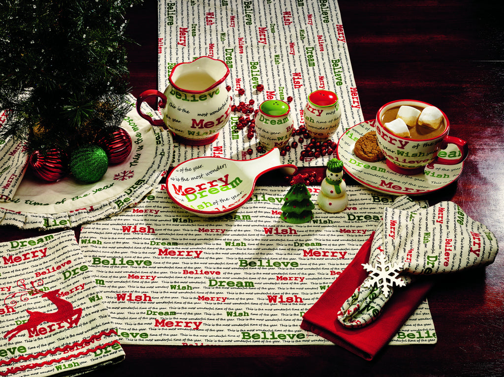 Christmas Wishes Long Table Runner