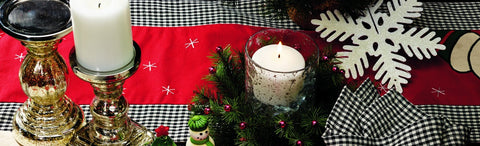Snow Much Fun Long Table Runner
