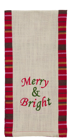 "Dancer ""Merry & Bright"" Accessory Dishtowel"