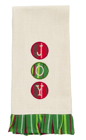 Dasher Joy Dishtowel