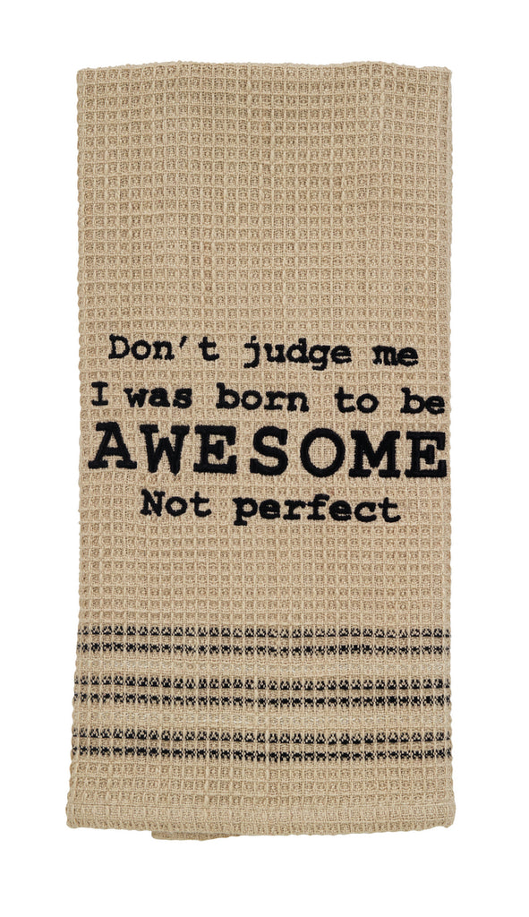 Born To Be Awesome Dishtowel