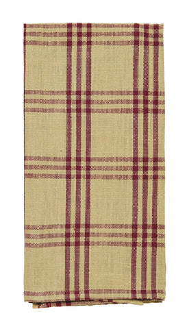 Cottonwood Red Dishtowel