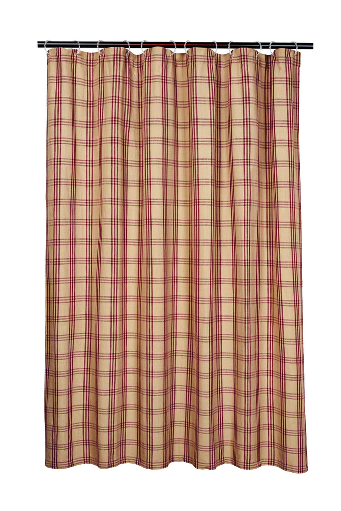Cottonwood Red Shower Curtain