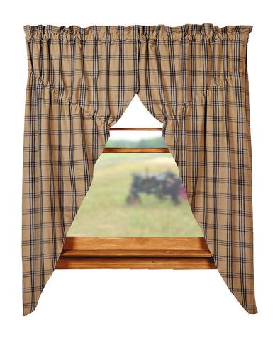Cottonwood Blue Prairie Curtain Set
