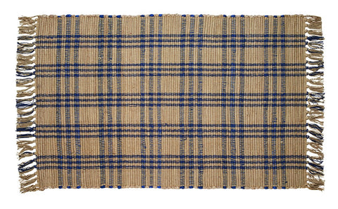 Cottonwood Blue Rectangle Rug