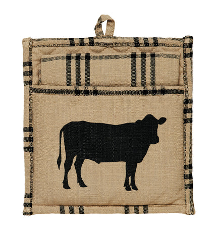 Cattle Potholder Gift Set - Set of 2