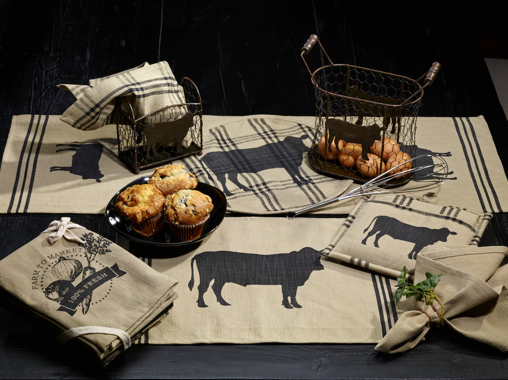 Cattle Short Table Runner