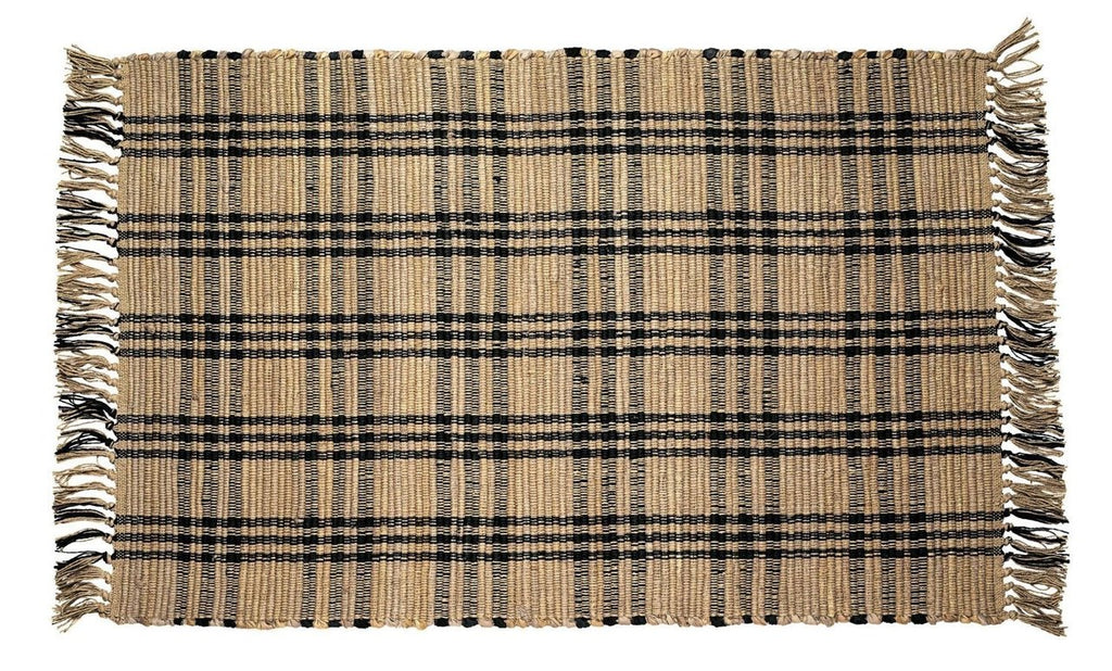 Cottonwood Black Rectangle Rug