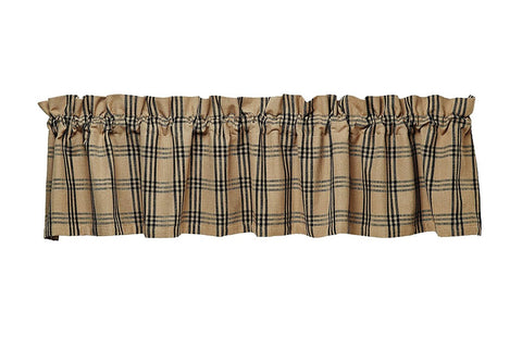 Cottonwood Black Valance