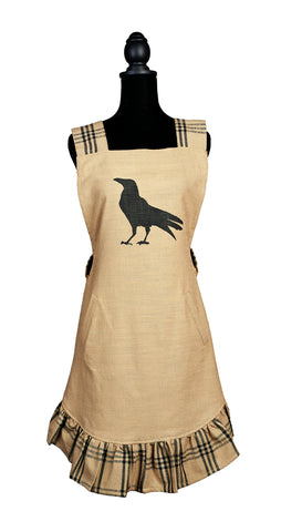 Olde Crow Decorative Apron