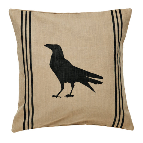 Olde Crow Pillow