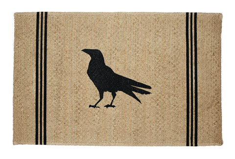 Olde Crow Rectangle Rug