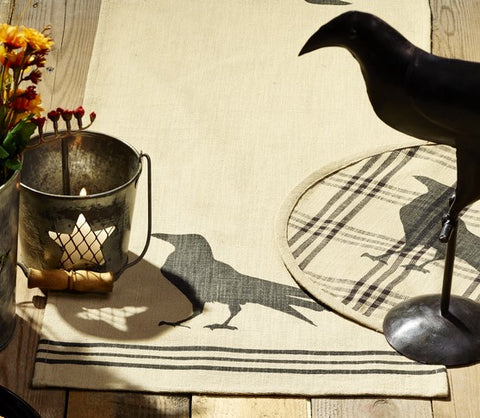 Olde Crow Short Table Runner